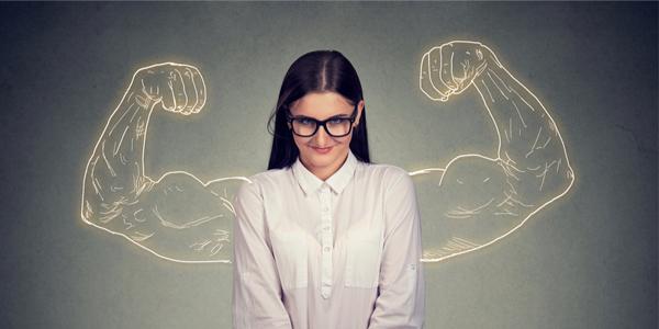 Wie niet sterk is moet slim zijn. Wie wel sterk is trouwens ook...
